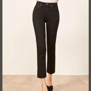 NWT Reformation Julia Crop High Waist Jeans 29